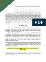 Arts Education and Cultural Intertradus de Cristina