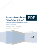 Strategy Formulation - Kingfisher Airlines