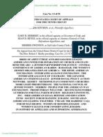 Anti-Defamation League et al Amicus Brief