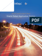Oracle Siebel Application Testing
