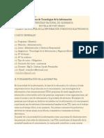 Silabo TIC y Negocios Electronicos Maestria UNCajamarca