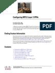 Mp Cfg Layer3 VPN