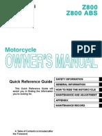 Z800abs Servicemanual Show PDF