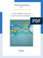 Some Perspectives Software Engineering