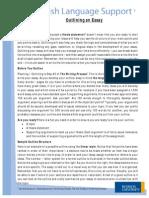 ELS Essay Outline1