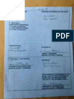 Copies of indictments of Zachary Adams