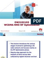 01 WCDMA RNO RF Optimization