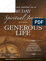 Generous Life Book