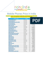 Mobile Phones Price in India - Cell Phones Buying Guide