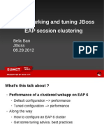 Ban Tuning and Benchmarking Eap Session Clustering