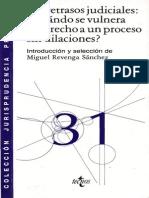 Los Retrasos Judiciales - Miguel Revenga Sanchez