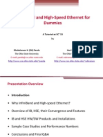 InfiniBand and High-Speed Ethernet for Dummies