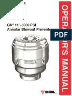 hydril gk bop blowout well drilling screw rh scribd com Steel Element Annular BOP Shaffer Annular BOP Model