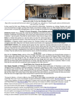 Jumaa Prayer Bulletin  7 March 2014