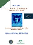 VICTIMIZACIÓN EN EL PERU.