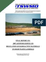 Final Report Landfill Survey