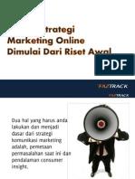 Sukses Strategi Marketing Online Dimulai Dari Riset Awal