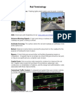 Rail Terminology