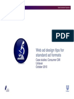 Web Ad Design Tips for Standard Ad Formats - case Studies