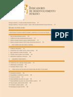 Indíces de desenvolvimento humano (análise)
