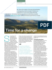 Changing upland land management. Piece in RICS Land Journal Spring 2014