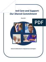 DEFINITIVE FINAL VERSION Integrated Care and Support - Our Shared Commitment 2013-05-13