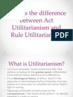 Act Utilitarianism