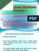 Petroleum Refining 1
