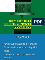 How Hris Helps in Induction Procedure of A