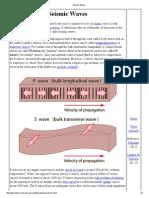 Q 3. Seismic Waves