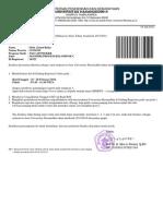 Surat Panggilan Pendaftaran Ulang Apoteker