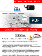 G Tracker Brochure