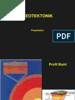 Geotektonik Presentation
