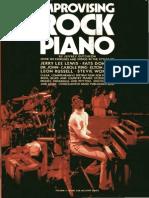 Improvising Rock Piano