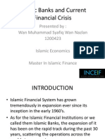 Islamic Banks and Current Financial Crisis