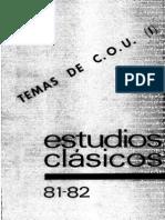 081-082 Temas de Latín y Griego