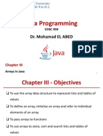 java array programming