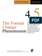 The Format Change Phenomenon