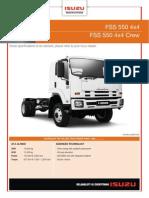 Isuzu FSS550 4x4