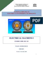 EEC 123 Electrical Machine I Theory