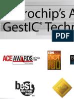 Microchip's GestIC® technology wins 11 global awards