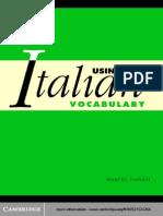 48600364 Using Italian Vocabulary