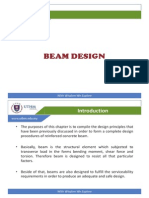 Chapter 5.0 - Beam Design (Theory)