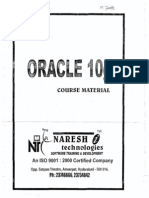 Naresh New Oracle 10g