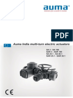 Actuator Catalogue for auma