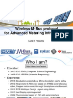 Wireless M-Bus protocolfor Advanced Metering Infrastructure