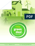 Easy Green Deal Brochure 2014