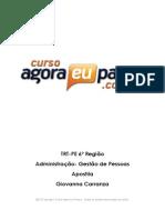 AEP_ TRT 6a Regiao Analista Judiciario Execucao de Mandados_ Administracao_ Giovanna Carranza
