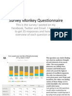 Survey Monkey Questionnaire