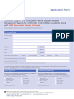 Easy MCS Application Form